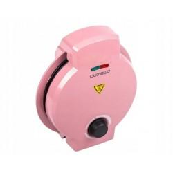 Vaflovač Ambiano WE 7000, 1200W - tvar srdce, růžová