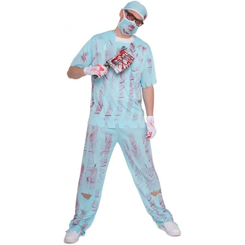 Pánský kostým Folat 21980 - krvavý doktor (vel. M/L - 46-50) Folat