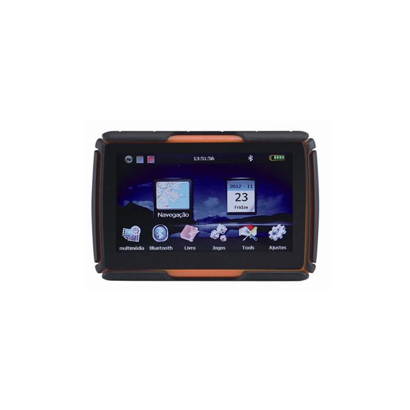 """4,3"""" GPS NaviGO GS430 - Navigace na motorku / kolo, Vodotěsná, BT, iGO Primo"""