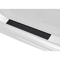 Avisa 2/29002guma do dveří u auta 95 x 4 cm / 250 x 4 cm, černá, sada 4 ks