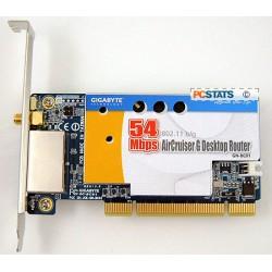 Interní router Gigabyte AirCruiser GN-BC01 802.11g Wireless Desktop Router
