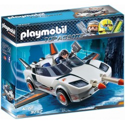 Top agent Spy Racer Playmobil - bílá
