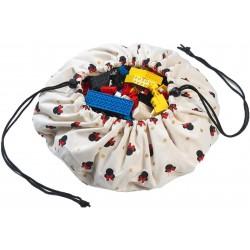 Taška na hračky Disney Minnie Play & Go- béžová