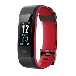 Fitness náramkové hodinky Willful SW350, černá - červená