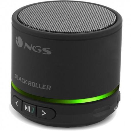 Přenosný Bluetooth mini reproduktor NGS Black Roller - černá
