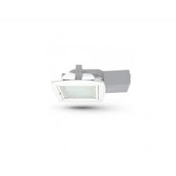 Stropní svítidlo s reflektorem Brilux Quad 13D 2x13W - bílá