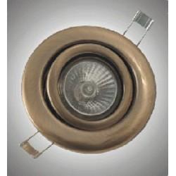 Pohyblivé bodové svítidlo Brilux G-200, 50W - bronzová