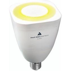 Žárovka AwoX StriimLight WI-FI COLOR E27 s reproduktorem - bílá