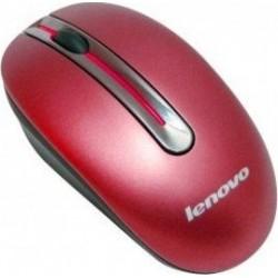 Bezdrátová myš Lenovo N3903A - červená
