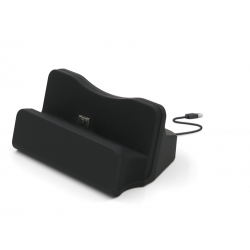 Dokovací stanice micro USB 3.0 se stojánkem - černá