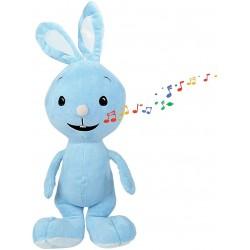 Plyšový zajíček Kikaninchen Simba 109462912 - modrá