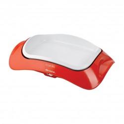 Gril Ariete 734 bílo-oranžový