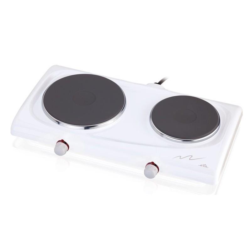Dvouplotýnkový elektrický vařič ETA 3119, bílá Eta