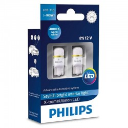 Žárovka do auta Philips X-tremeUltinon LED W5W, 2ks