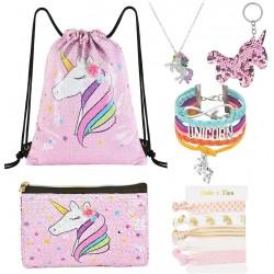 Dárková sada pro dívky WERNNSAI Unicorn - růžová