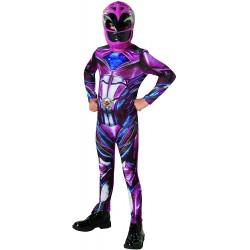 Kostým Power Rangers Rubie´s, vel. M, růžová