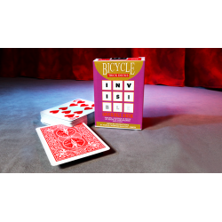Hrací karty poker Bicycle invisible deck - 52 karet