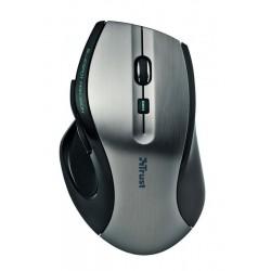Bezdrátová PC myš Trust MaxTrack - 17176, černostříbrná