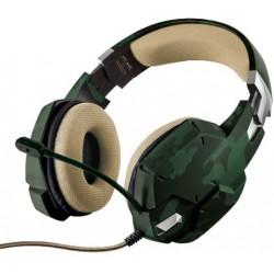Herní sluchátka Trust GXT 322C (20865) - zelená