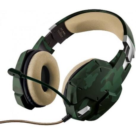 Herní sluchátka Trust GXT 322 - 20865, jungle camo