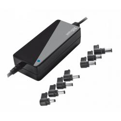 Univerzální napájecí adaptér pro notebooky Trust Primo laptop charger - 70W, černá