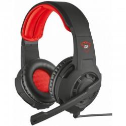 Herní sluchátka Trust RADIUS GXT 310, červenočerná