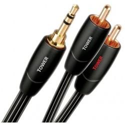 Propojovací audio kabel AudioQuest Tower 3,5mm - 2xRCA, 3m