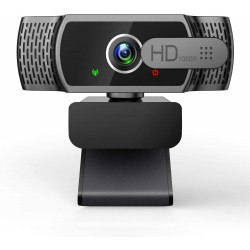 Webkamera EYONMÉ W6 Full HD 1080p, černá