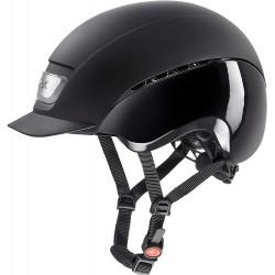 Jezdecká helma Uvex S433435, 54-55 cm, černá