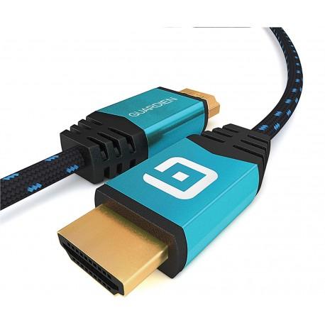 HDMI kabel Guardien 1m, modro-černý