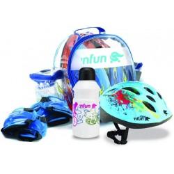 Dětská cyklistická výbava s chrániči Cicli Bonin ´Nfun Kidcool Pollock, vel.52-56cm
