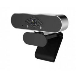 Webkamera Full HD 1080P, stříbrná