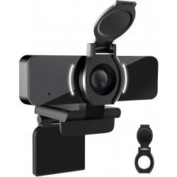 Webkamera LarmTek W4, Full HD 1080p, černá