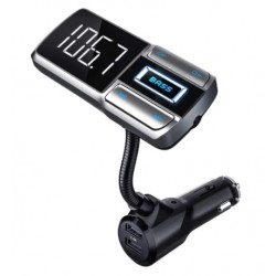 Bluetooth FM transmitter do auta, černá