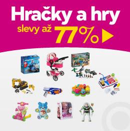 Hračky a hry se slevami až 77 %