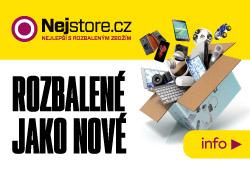 Nejstore.cz - nejlepší s rozbaleným zbožím