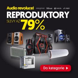 Outletelektro.eu - reproduktory se slevami až 79 %!