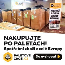 E-shop Paletovezbozi.cz - prodej spotřebního zboží na paletách